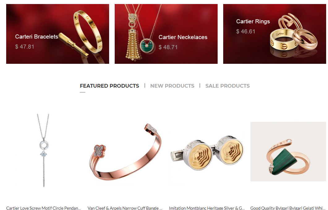 Best-selling replica jewelry at elog.io