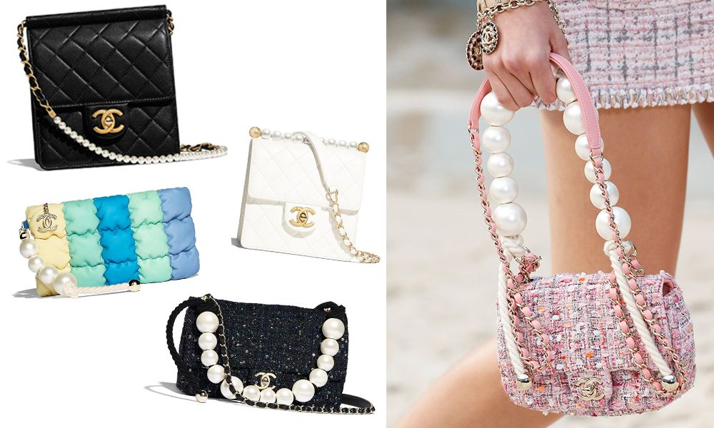 Chanel handbags with Pearl
